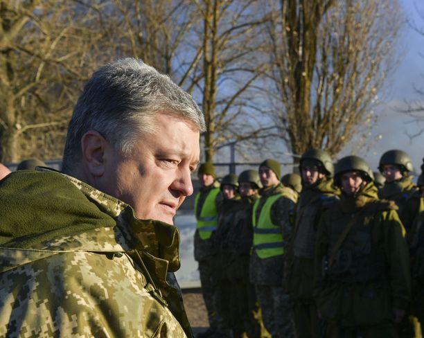 Petro Poroshenko saattaa hyvinkin jatkaa Ukrainan presidenttinä maaliskuisten vaalien jälkeen.