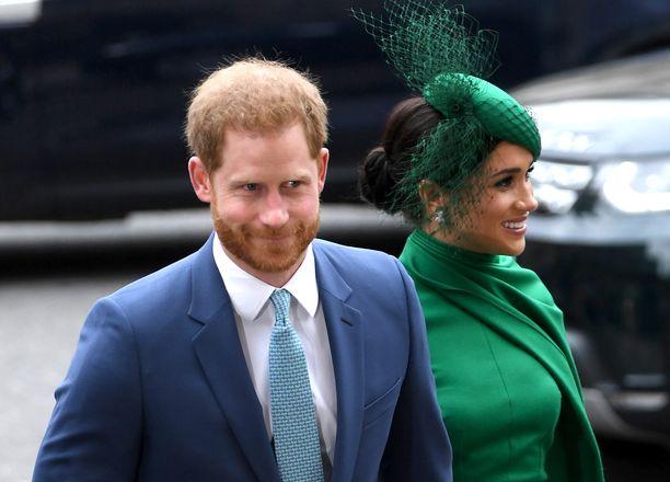 Harry ja Meghan ovat asettuneet Yhdysvaltoihin.