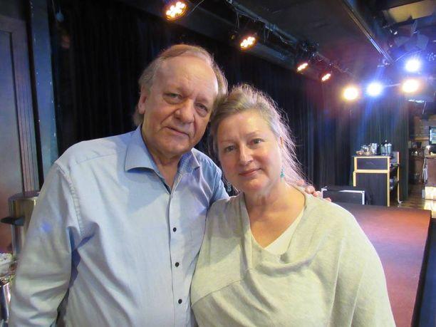 Esko Roine ja Ritva Jalonen nähdään yhdessä Tampereen Teatterin lavalla.