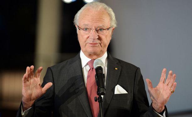 Kaarle Kustaa on ollut Ruotsin kuningas vuodesta 1973 lähtien.