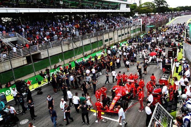 Formula ykkösten kausi alkaa maaliskuussa.
