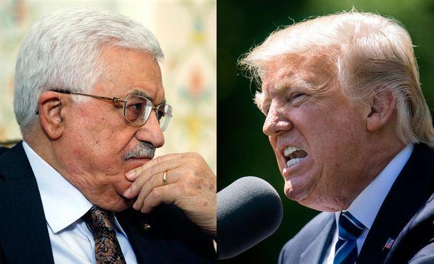 Mahmud Abbas ja Donald Trump tapaavat keskiviikkona.
