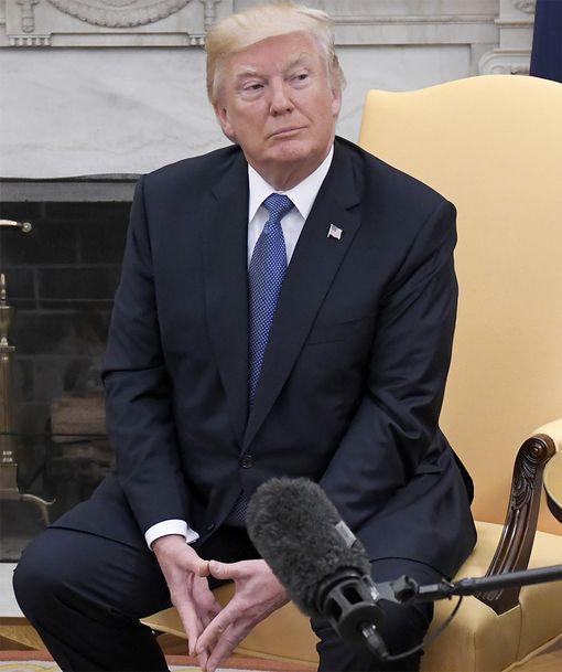 Fiksumpi kuin häviäjät ja vihaajat - ja ulkoministeri Tillerson, sanoo Trump.