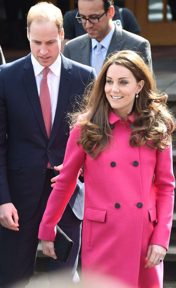 Mukana hyväntekeväisyyskeskuksessa oli myös siippa prinssi William.