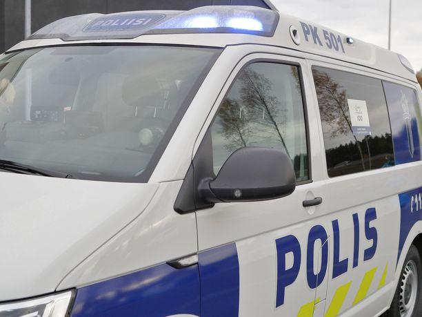 Poliisi pidätti torstaina IFK Mariehamnin pelaajan. Kuvituskuva.