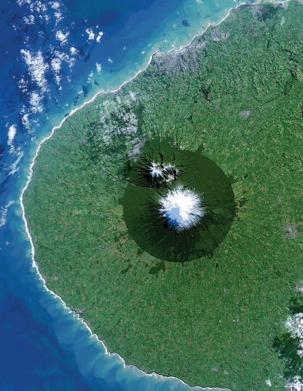 Luonnonsuojelualue Uudessa-Seelannissa.