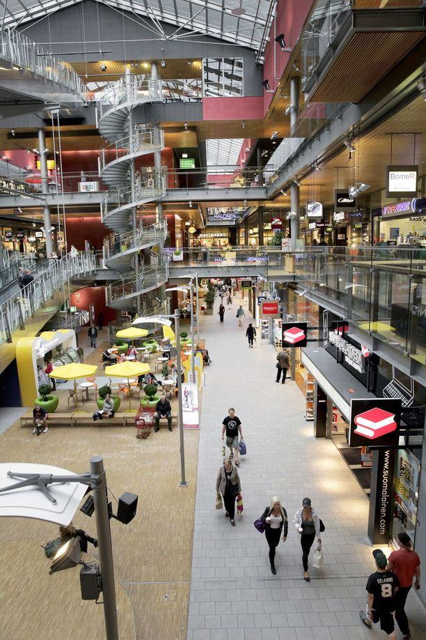 Pahoinpitely tapahtui kauppakeskus Sellossa Espoossa.