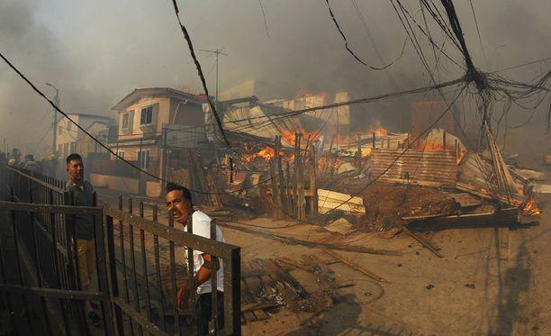 Alueella on syttynyt tuhoisia maastopaloja aiemminkin.