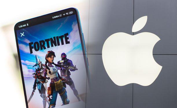 Epic Games ja Apple ovat olleet törmäyskurssilla jo pitkään.