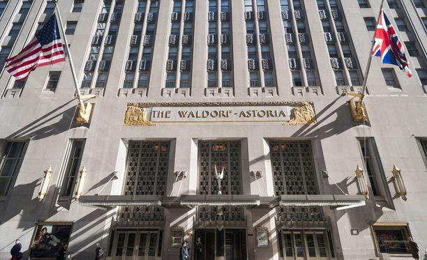 Waldorf Astoria on yksi New Yorkin tunnetuimmista hotelleista.