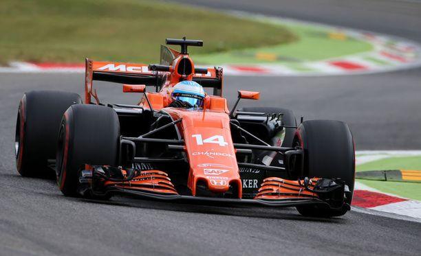 Fernando Alonso saa jälleen roiman lähtöruuturangaistuksen.