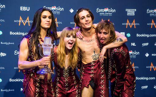 Euroviisu-voittaja Måneskin saa yhteydenottoja fanittamiltaan tahoilta – Jopa Miley Cyrus lähestyi