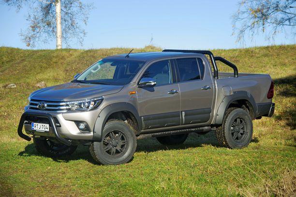 Toyota Truckmasters on Suomessa pakettiautosta muunnettu kevytkuorma-auto, jonka autovero kuorma-autona on tasan nolla.