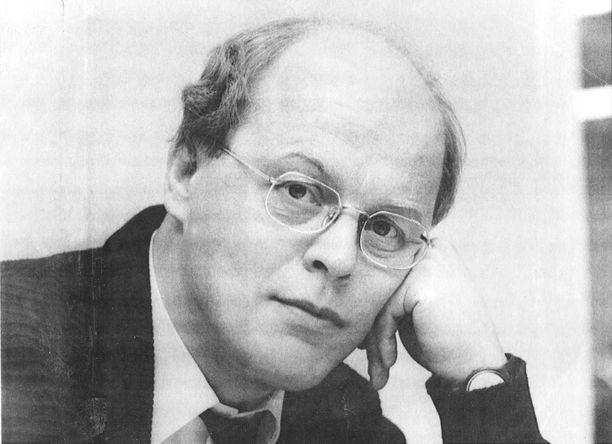 Kuvassa Matti Linnanahde vuonna 1991.