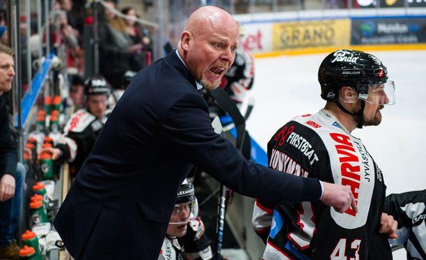 Marko Virtanen kehui HIFK:ta vuolaasti.