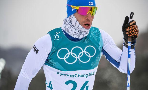 Lari Lehtonen oli sijalla 33 Korean olympiakisojen yhdistelmähiihdossa.