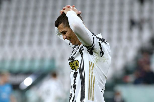 Juventus-toiveet lepäävät Cristiano Ronaldon harteilla.