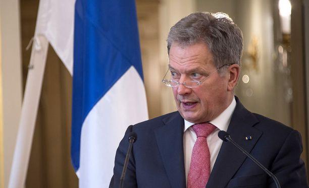 Presidentti Sauli Niinistön mukaan suurimman ulkoisen uhkan Euroopalle aiheuttaa terrorismin ja muuttoliikkeen sekä Venäjän yhdistelmä.