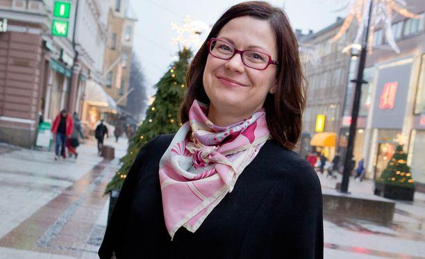 Minna Arve aloittaa Turun kauppakamarin johtotehtävissä.