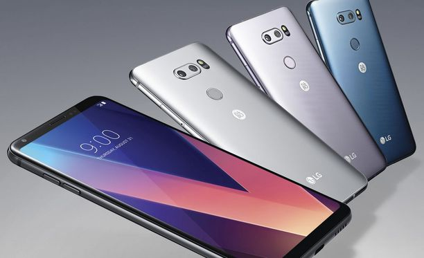 V30 on yksi LG:n suosituimmista puhelimista.