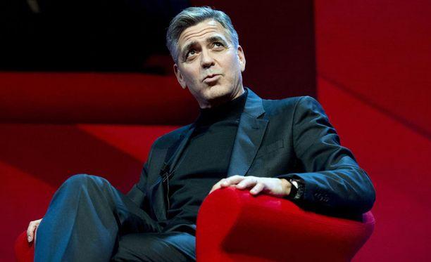 George Clooney palasi hupailussa Teho-osaston tunnelmiin.