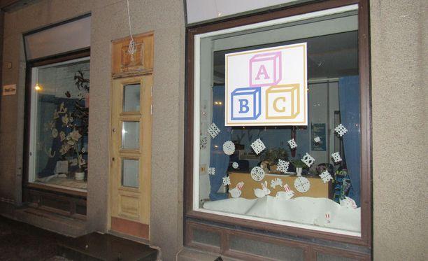 Kyseessä on yksityinen ABC-Päiväkoti Tampereella.
