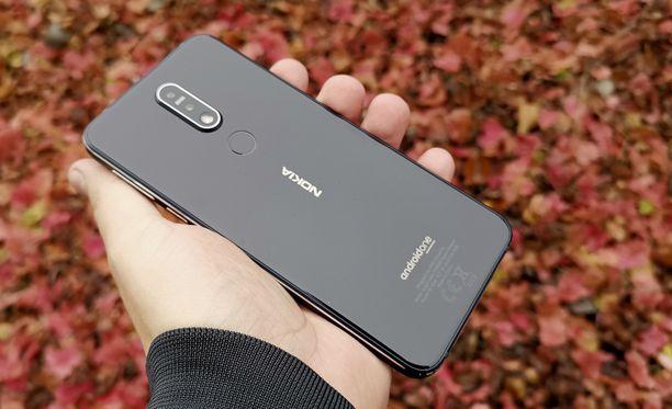 Nokia 7.1 näyttää hyvältä.