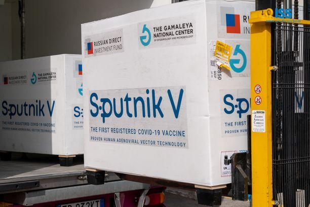 Lasti Sputnik V -koronavirusrokotetta saapuu San Marinoon.