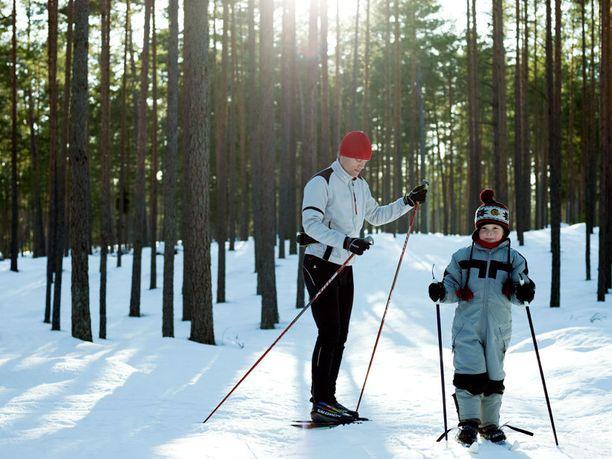 Virosta löytyy paljon matkakohteita talviurheilun ja -ulkoilun ystäville.