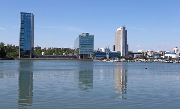 Kone toimii Espoon Keilaniemessä.