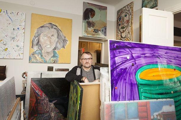 Seppo Fränti lahjoittaa satojen teosten taidekokoelmansa Kiasmalle.