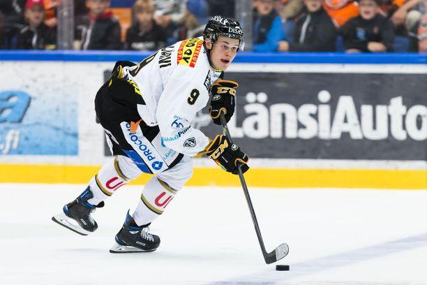 Jesse Puljujärvi on tehoillut kauden kahdessa ensimmäisessä ottelussa pisteet 1+1.