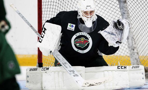 Kaapo Kähkönen valittiin kuukauden maalivahdiksi AHL:ssä.