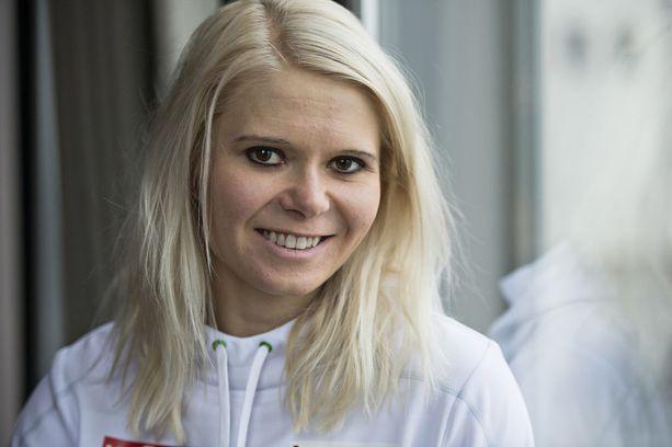 Mari Laukkanen voitti viime kaudella kaksi ampumahiihdon maailmancupin osakilpailua Oslossa.