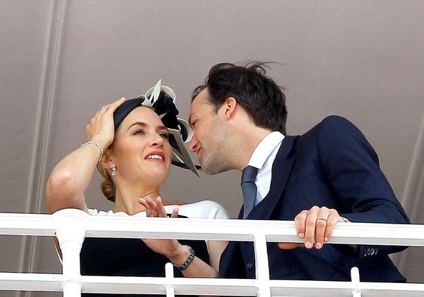 Kate Winslet ja Ned Rock'n'roll menivät naimisiin vuonna 2012.