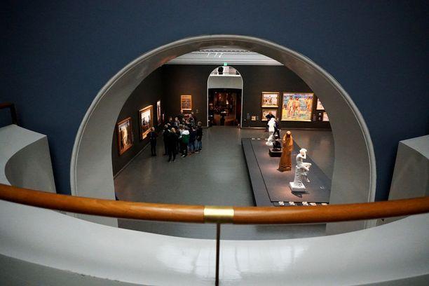 Ateneumin, Kiasman ja Sinebrychoffin taidemuseon muodostama Kansallisgallerian taidemuseo keräsi yhteensä huimat 750 000 kävijää.