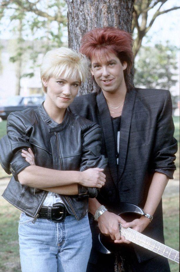 Tästä se kaikki lähti. Marie Fredrikssonin ja Per Gesslen Roxette syntyi vuonna 1986.