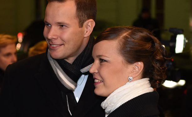 Tero Pitkämäki ja Niina Kelo olivat tietoisia presidentti Sauli Niinistön vaikuttavista keihästuloksista.