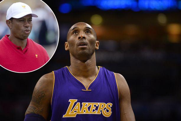 Tiger Woods ja Kobe Bryant olivat hyviä ystäviä.