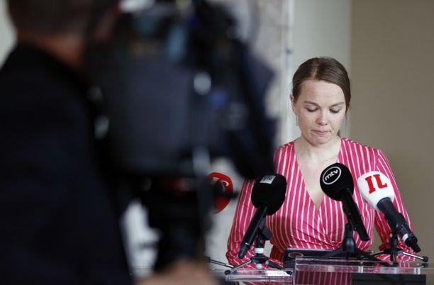 Katri Kulmuni erosi valtiovarainministerin tehtävästä 5. kesäkuuta.