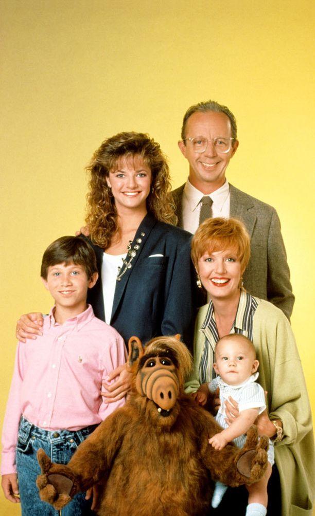Avaruudesta kotoisin ollut näsäviisas Alf asui Tannerin perheessä.