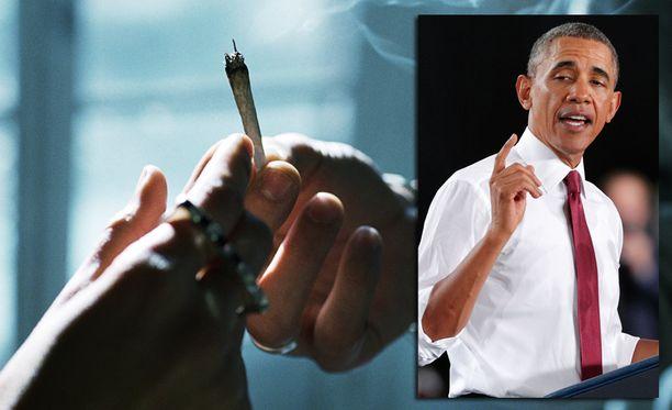 Yhdysvaltain presidentti Barack Obama myönsi pössytelleensä nuorempana.