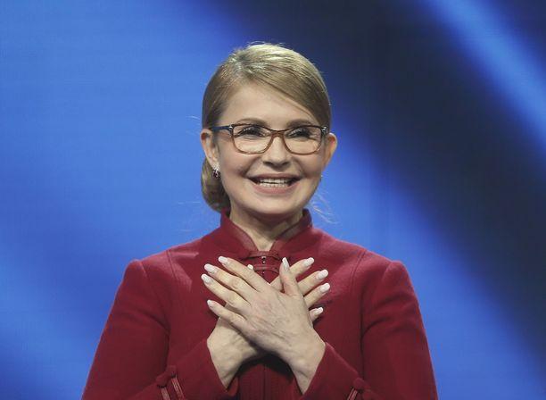 Julia Tymoshenko haluaa vallan huipulle.