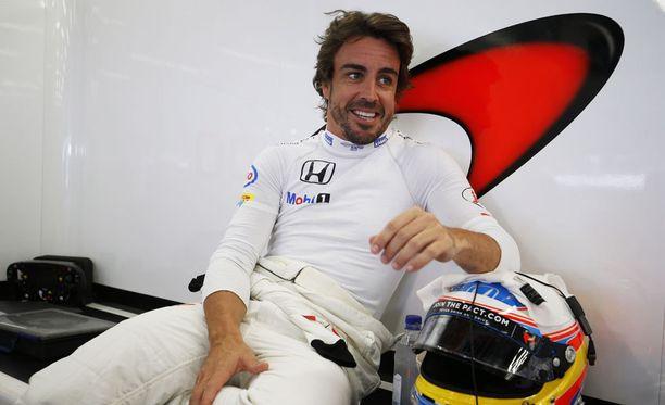 Fernando Alonso luottaa McLarenin kehitystyöhön.