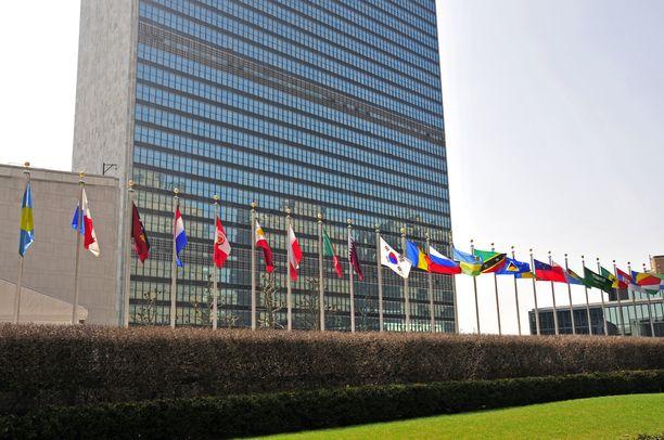 YK:n pääkonttori Manhattanilla New Yorkissa.