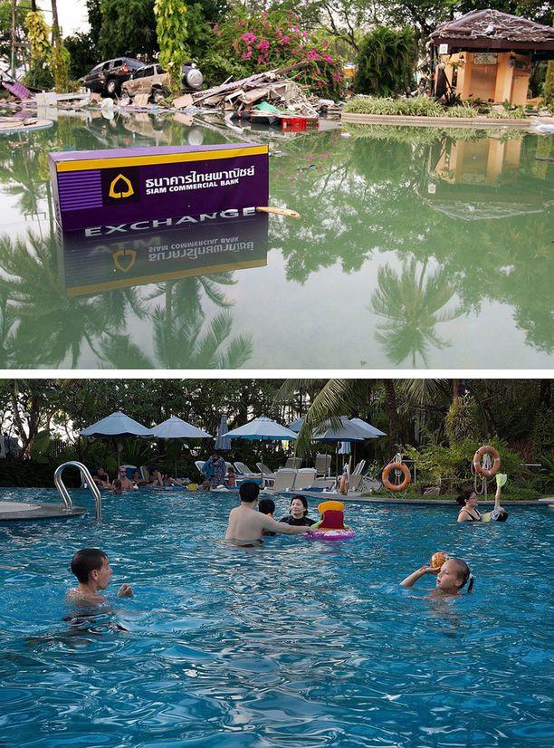 Holiday Inn -hotelli Patong Beachillä Thaimaassa.
