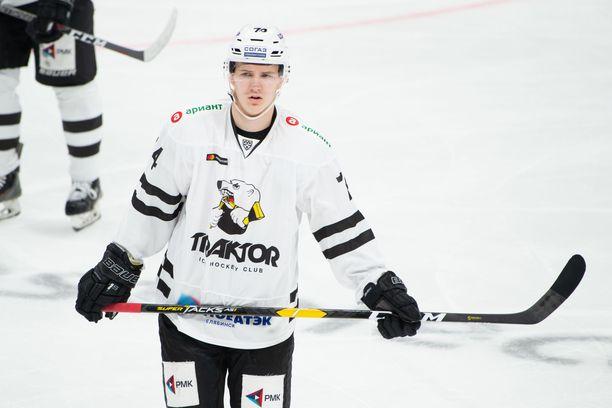 Vitali Kravtsov ja kumppanit kohtaavat tänään Admiralin KHL:ssä.