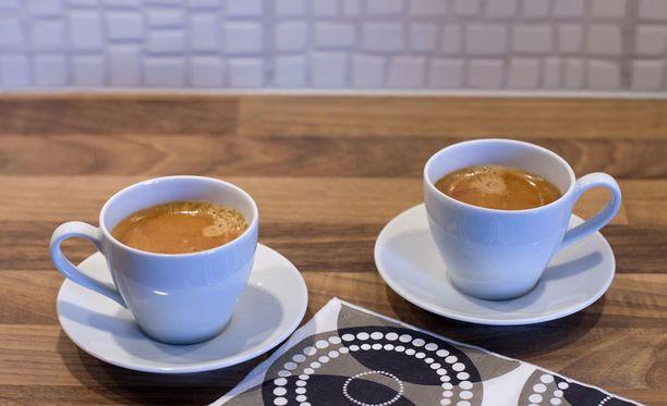 Kahvista saa parhaimman terveyshyödyn, kun sitä juo yli kaksi kuppia päivässä.