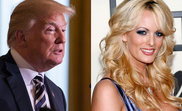 Donald Trump myöntää nyt aamuisissa Twitter-viesteissään maksaneensa Stormy Danielsin hiljaiseksi.
