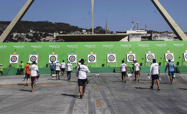 Rion olympialaisten jousiammuntapaikka.